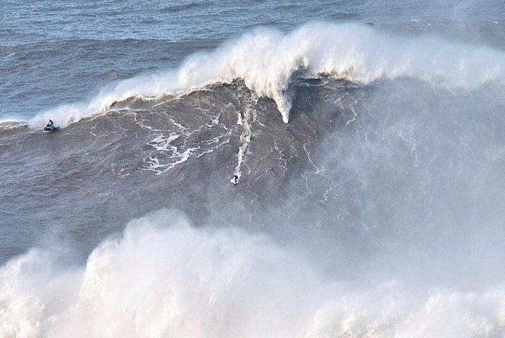 The most outrageous year for extreme big waves