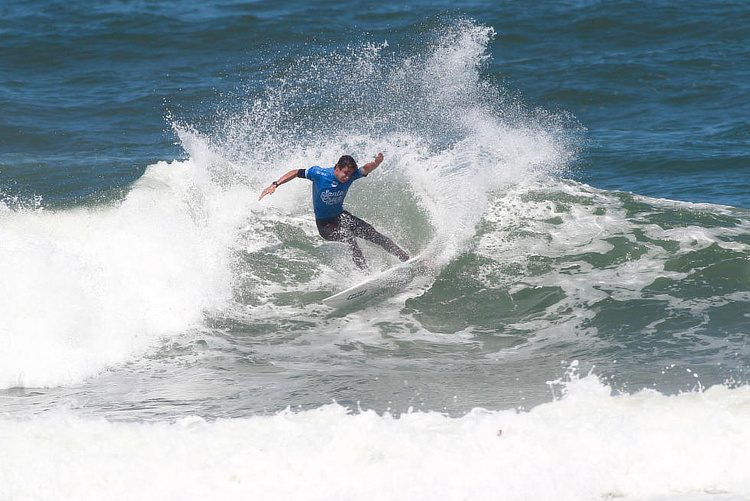 Andy Criere: a tasty win at Praia da Fisica | Photo: WSL