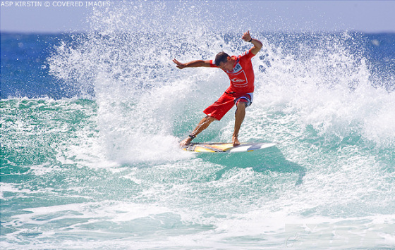 Andy Irons: back to pro surfing in great style