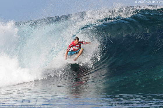 Andy Irons: massive result!