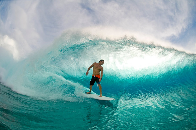 Andy Irons: three-time world surfing champion, icon, and fearless competitor | Photo: Billabong