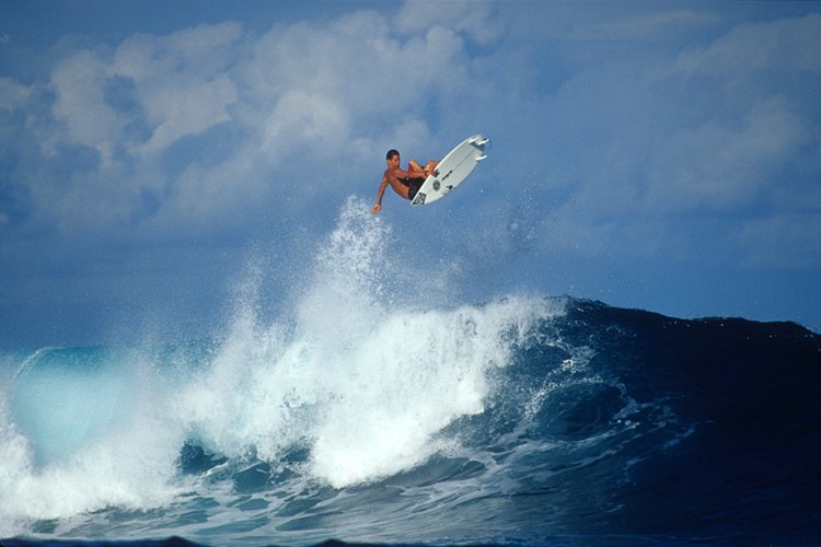 Andy Irons: he was a fantastic aerial surfer | Photo: Bielmann