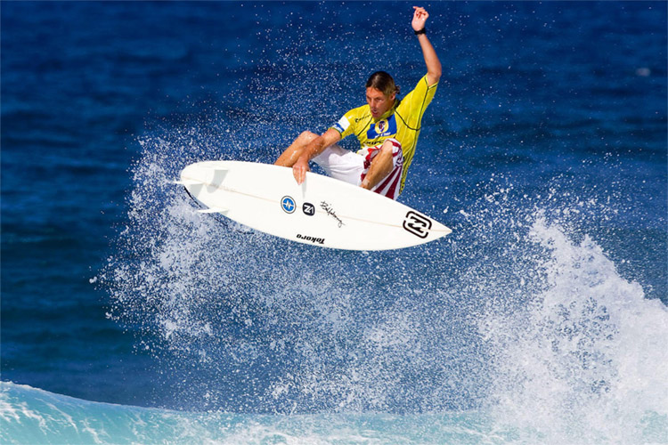 Andy Irons: his favorite surf spot was Pine Trees | Photo: Tostee/ASP