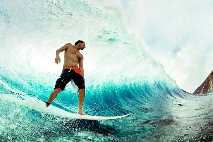 Andy Irons: still getting barreled in heaven
