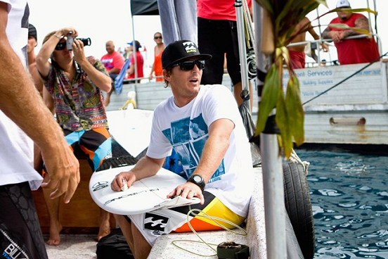 Andy Irons in the 2009 Billabong Pro Tahiti