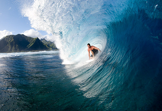Andy Irons: the king of Teahupoo