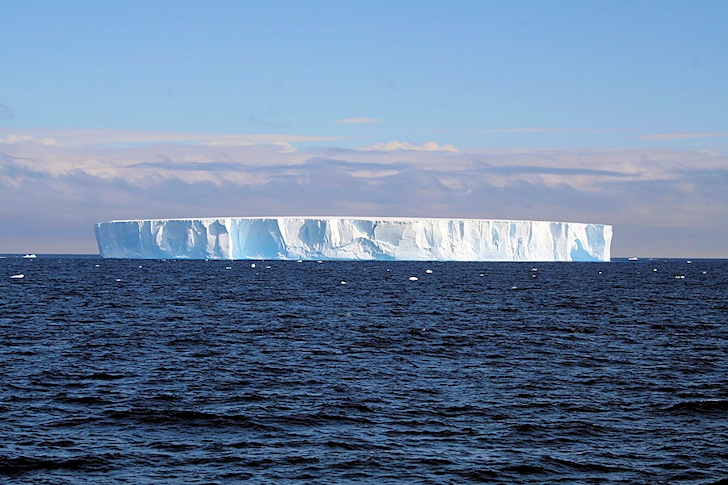 Antarctic glaciers: melting from below | Photo: Geomar: melting from below | Photo: Geomar