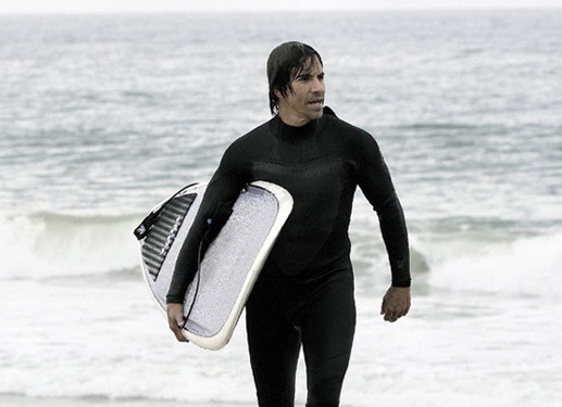 Anthony Kiedis: popular for being a surfer