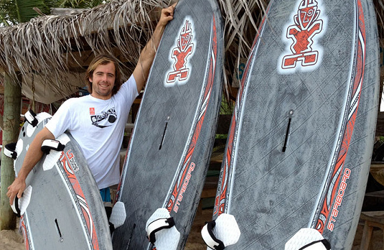 Antoine Questel: he got new boards