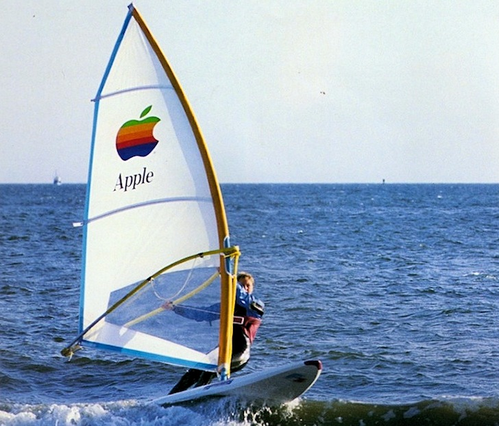 Apple iWindsurfer: it didn't had chips or disk drives