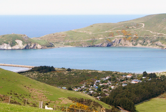 Aramoana, 'The Spit': do not touch, it's sacred