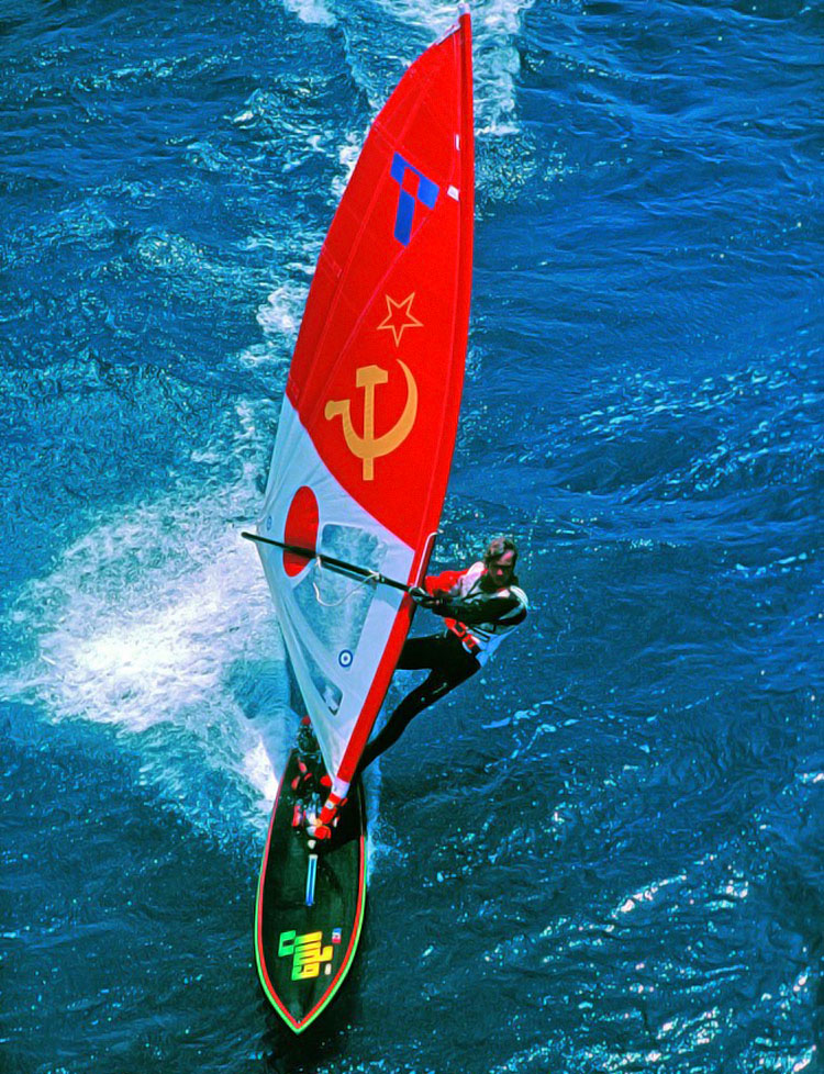 Arnaud de Rosnay: sailing with the Chinese flag