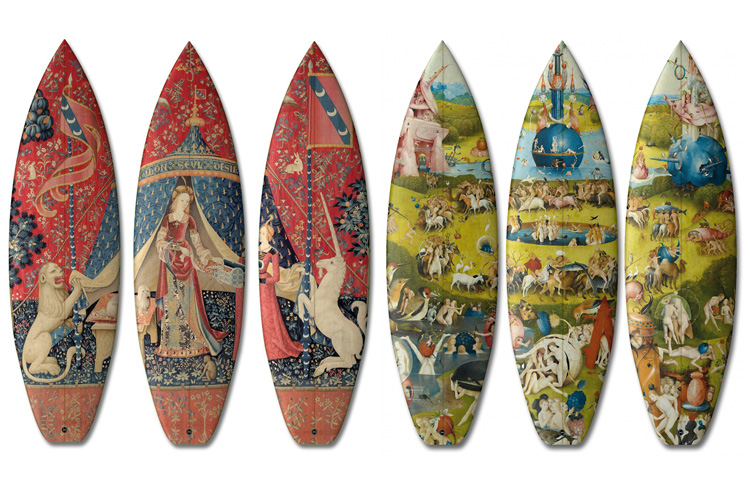 404 Series: arty surfboards by Boom-Art and UWL Surfboards