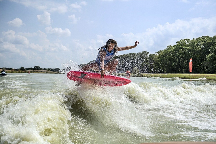 Ashley Kidd: she ripped at BSR Cable Park | Photo: WWA