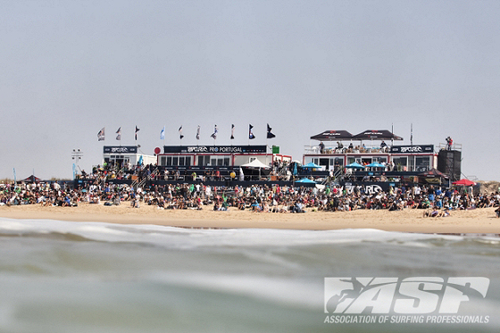 ASP World Tour: the beach as a stadium