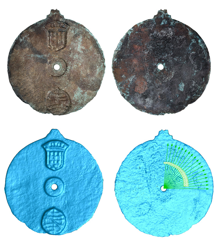 Vasco da Gama's astrolabe: this navigation tool was made between 1495 and 1500