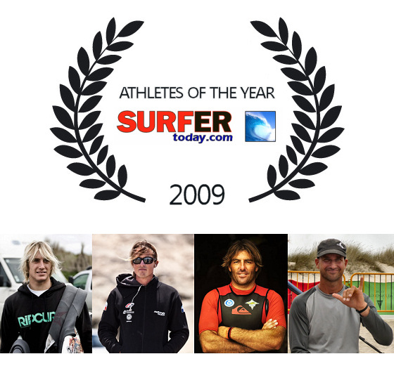 SurferToday.com announces the «Athlete Of The Year 2009