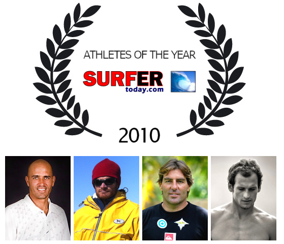 Athletes Of The Year 2010: congrats, boys!