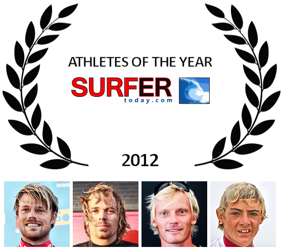 Athletes of the Year 2012: Dane Reynolds, Lewis Crathern, Andre Paskowski and Sammy Morretino