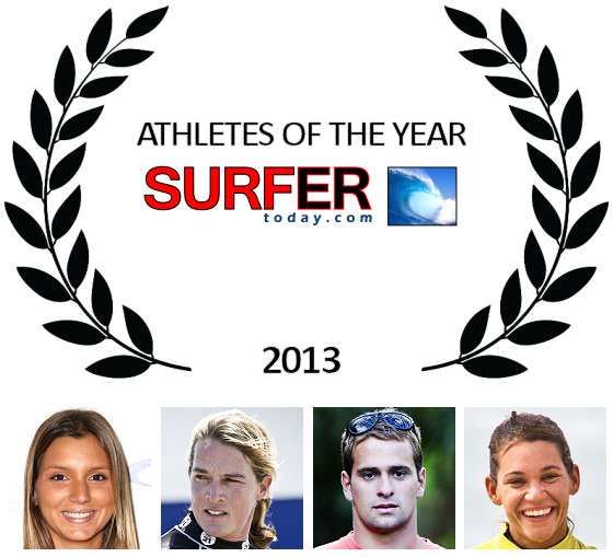 Athletes of the Year 2013: Maya Gabeira, Alex Caizergues, Marcilio Browne and Isabela Sousa