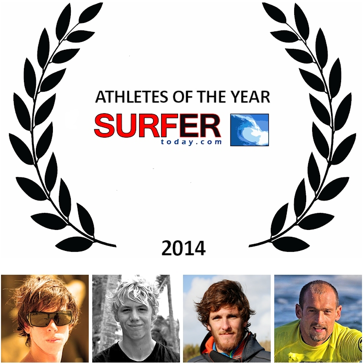 Athletes of the Year 2014: Brad Domke, Oliver Bridge, Thomas Traversa and Amaury Lavernhe