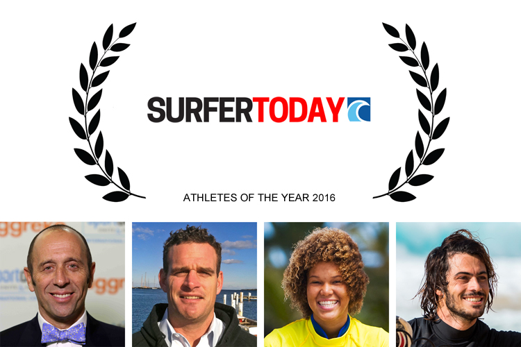 Athletes of the Year 2016 by SurferToday: Fernando Aguerre, Rob Douglas, Sarah-Quita Offringa and Pierre-Louis Costes