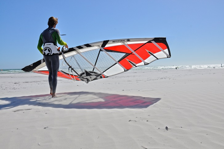 Attitude Sails: made for 95 percent of the windsurf population