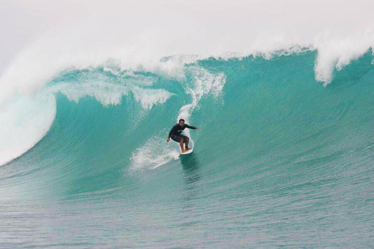 Aurelio Prieto: a big wave surfer from Ecuador | Photo: Swell Ecuador