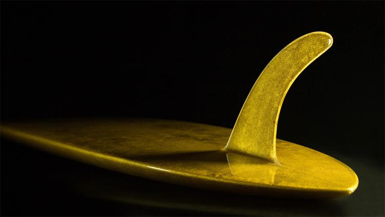 The Aureus: a golden ride | Photo: Lux Surfboards
