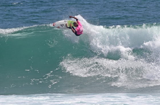 Mick Fanning: not here to offer the victory to Taj Burrow