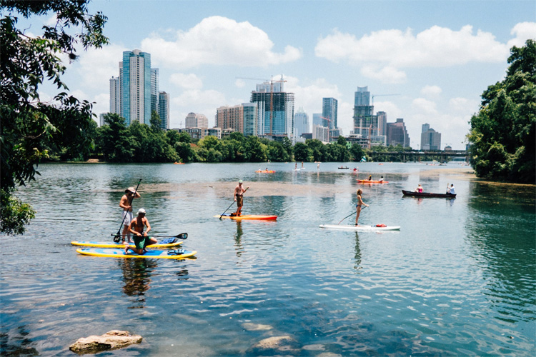 Austin, Texas: there plenty of stand-up paddleboarding spots in and around the city | Photo: Tomek Baginski