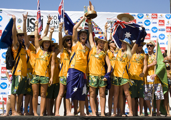 Australia conquers the 2009 ISA World Juniors