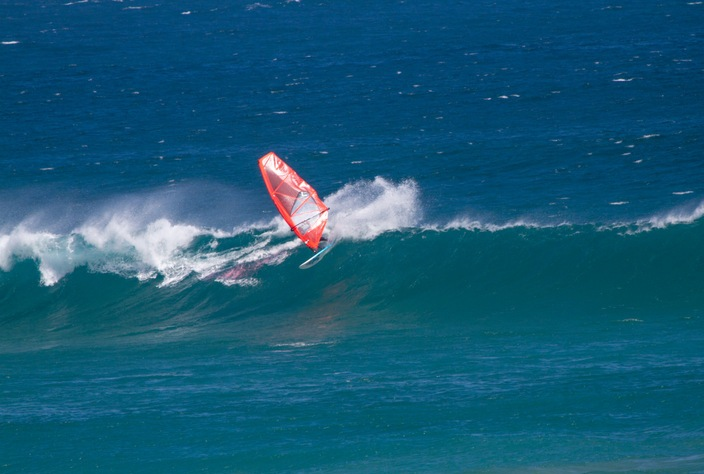 Ben Severne is the 2014 Australian Wavesailing champion