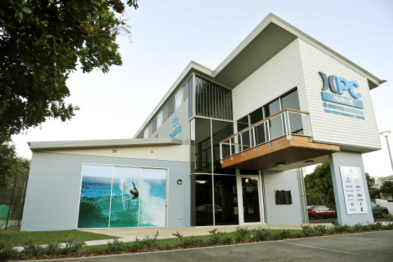 Hurley Surfing Australia High Performance Centre: nice surf house