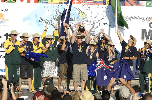 Australia conquers the World Surfing Games 2008