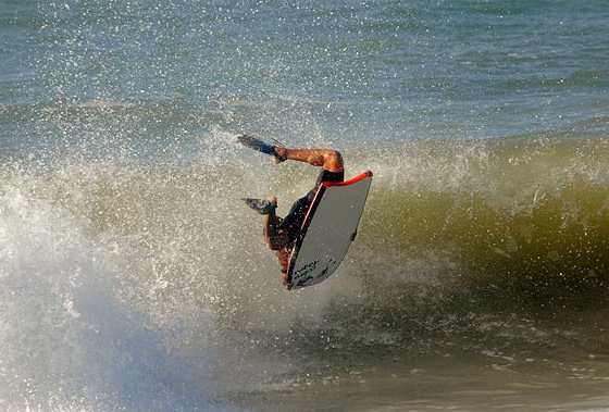 Bahia Bodyboarding Show: back tricks will be performed