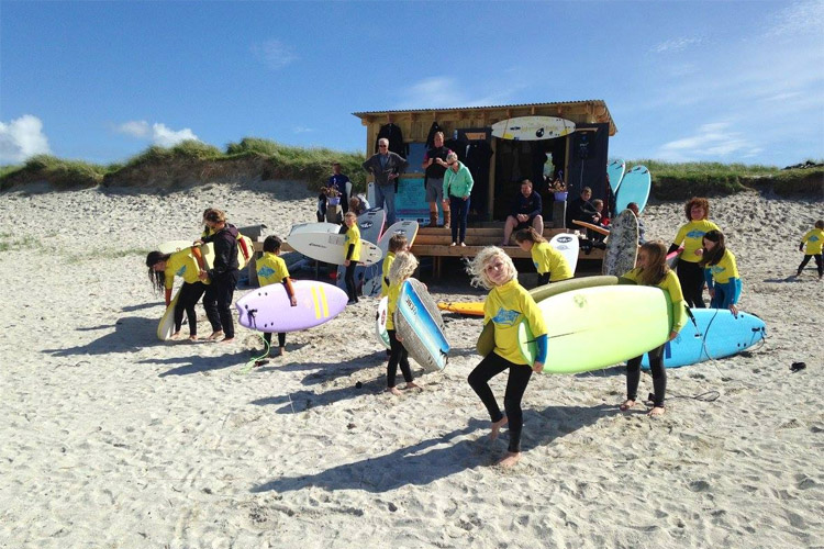 Balevullin Beach, Tiree: let these Scottish surfers have their hut | Photo: Blackhouse Watersports