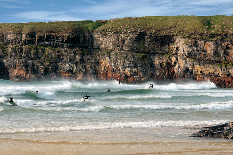 Ballybunion: Men's Beach offers six kilometers of waves | Photo: Stay In Kerry