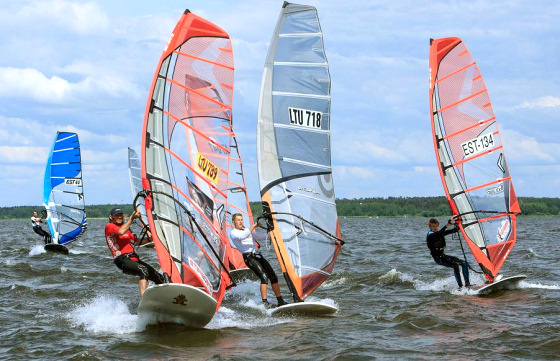 NeilPryde Baltic Cup: Lithuanian waters