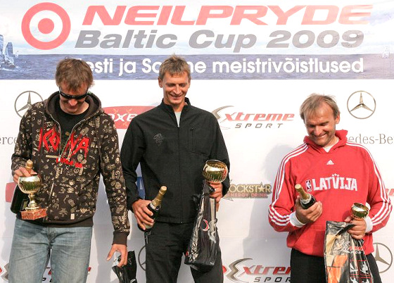 Winners of the 2009 Baltic NeilPryde Cup