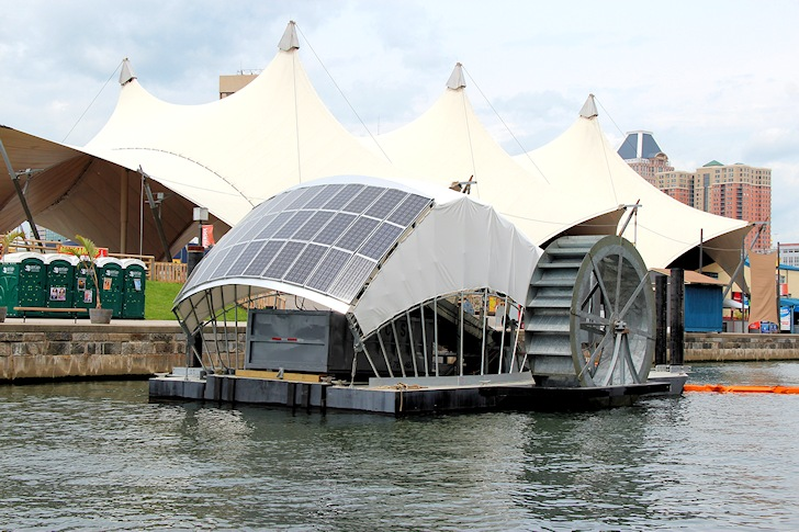 Baltimore Water Wheel: efficient and green