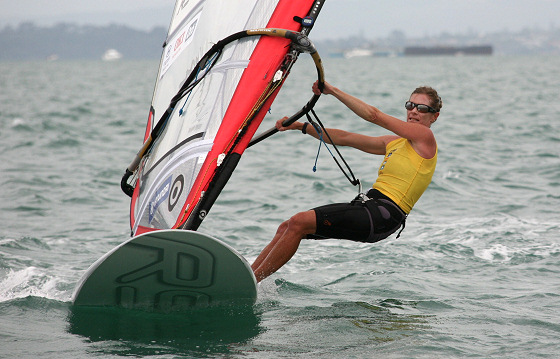 Barbara Kendall: shocked to hear that kiteboarding has dethroned windsurfing