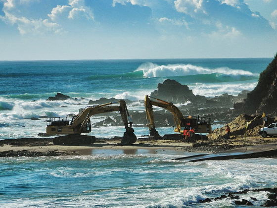 Bastion Point: how bulldozers destroy 40 years of surfing