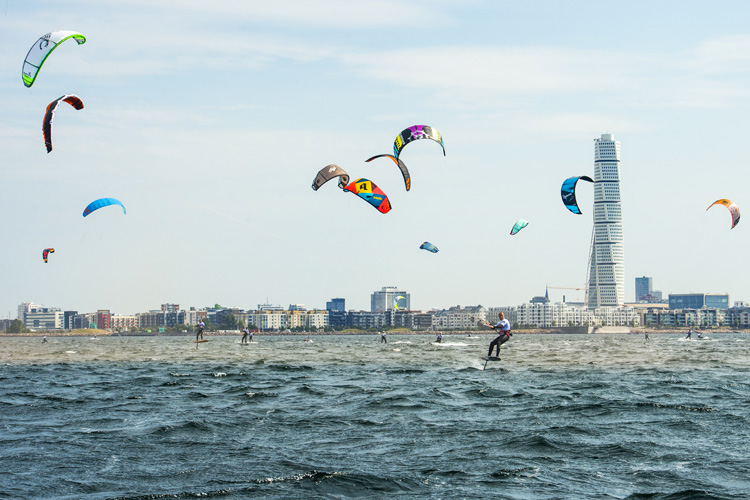 Red Bull Battle of the Sund: windy and gusty | Photo: Daniel Rönnback/Red Bull