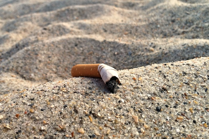 Tobacco: no more cig butts in Maui's beaches