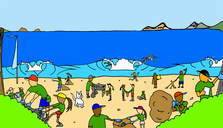 Oahu prepares for the largest beach cleanup