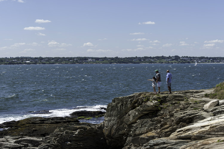 Beavertail State Park: enjoy the sights and protect your skin from the sun's harmful UV rays | Photo: Raw Element