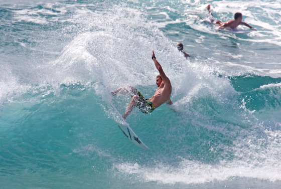Bede Durbidge: the speed surfer