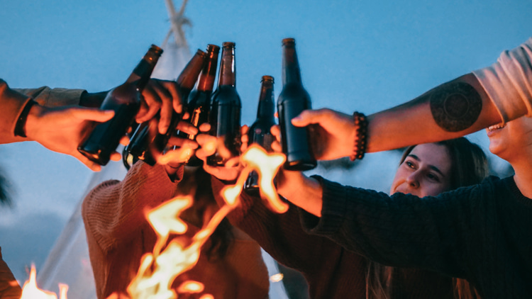 Beer: drinking too much alcohol affects your physical and mental performance   Photo: Kindel Media/Creative Commons