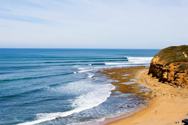 Bells Beach: a surf gem in the heart of Victoria | Photo: ASP